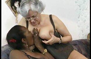 Öreg nagydugás Anya Lány Lány